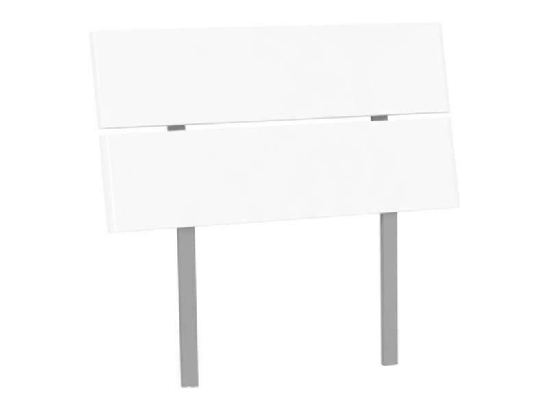 Tête de lit 90 cm EASY 2 coloris blanc  Conforama  Pickture