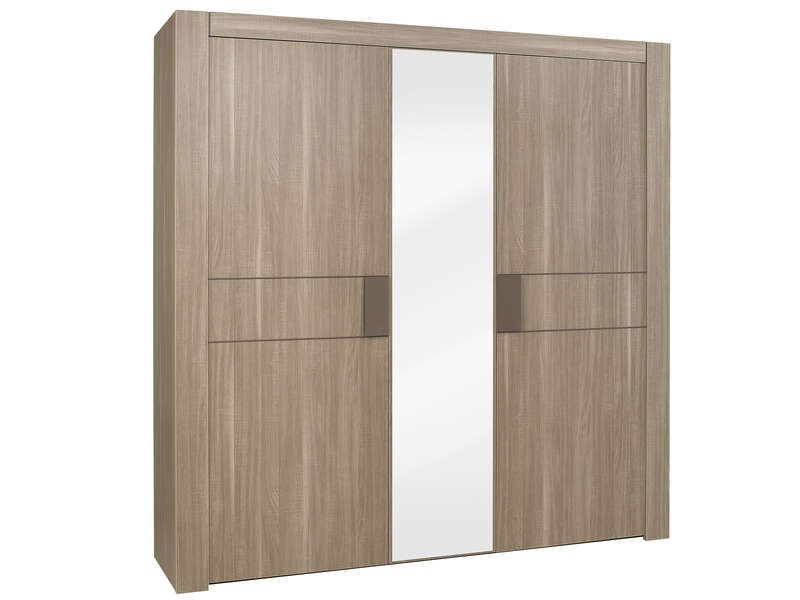 armoire 3 portes moka conforama pickture