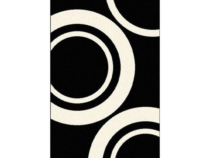 tapis poils ras motif cercles 160x230 cm nevada conforama pickture. Black Bedroom Furniture Sets. Home Design Ideas