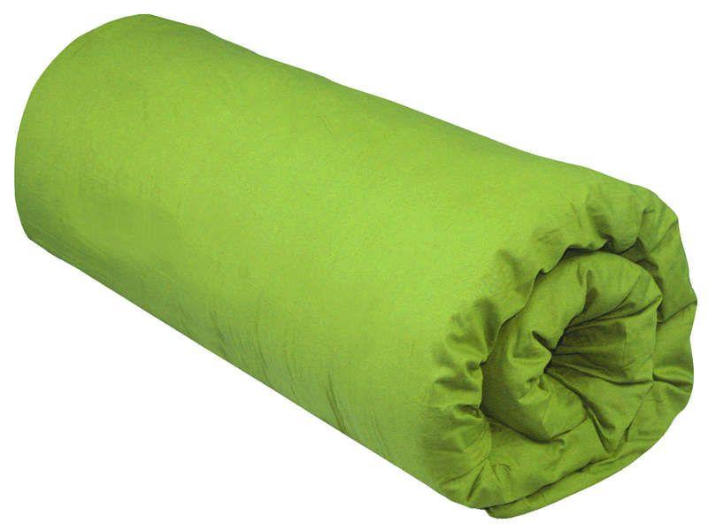 Drap housse 160x200 cm unico coloris vert conforama pickture - Drap housse 160x200 rose ...