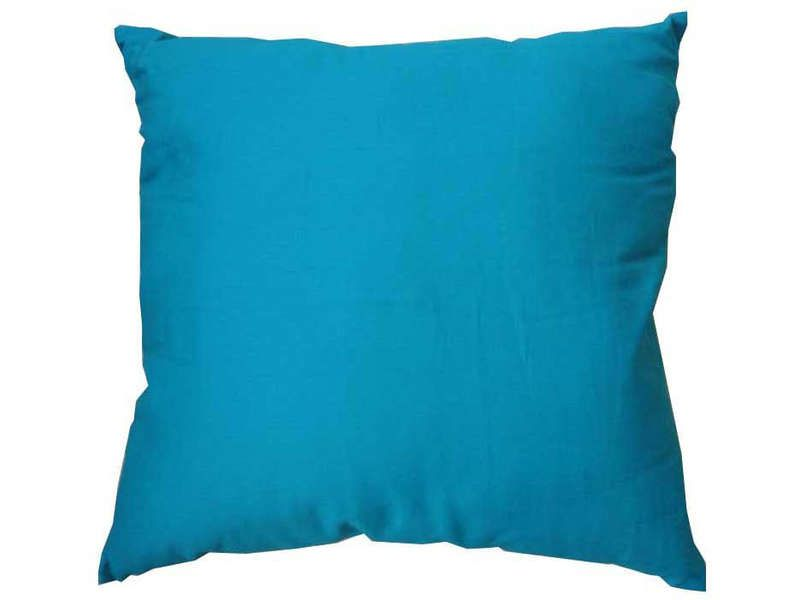 Coussin 40x40 cm twist coloris turquoise conforama pickture - Coussin xxl conforama ...