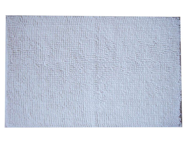 Tapis De Bain 50x80 Cm Bubble Coloris Blanc Conforama Pickture