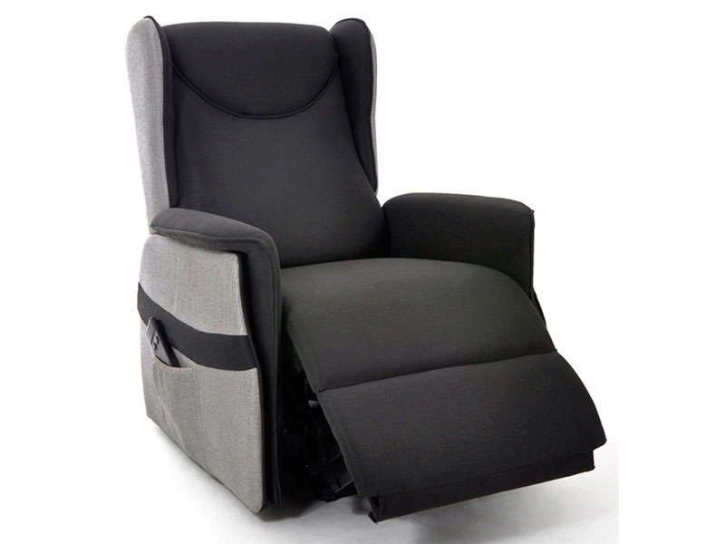fauteuil relaxation lectrique xl relax coloris. Black Bedroom Furniture Sets. Home Design Ideas
