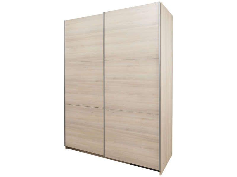 Armoire 2 portes coulissantes cm fast conforama pickture - Grande armoire conforama ...