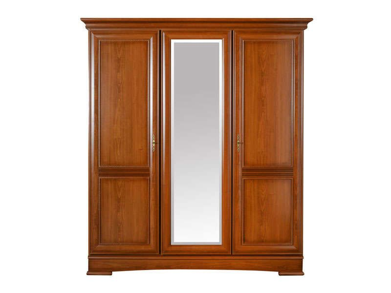 Armoire 3 portes eloise conforama pickture for Armoire conforama 3 portes coulissantes