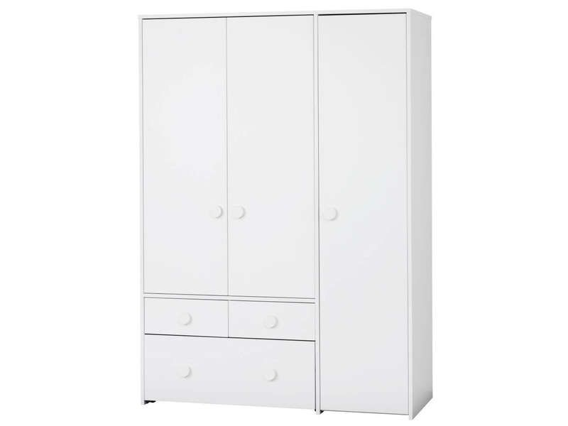 armoire 3 portes 2 tiroirs combee conforama pickture. Black Bedroom Furniture Sets. Home Design Ideas