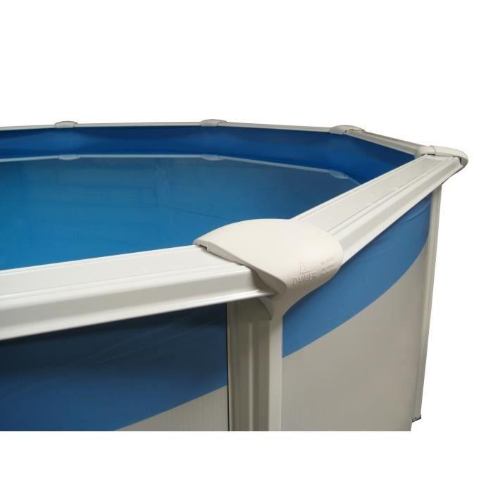 Liner 30 100 5 50 m hauteur 1 20 m pour piscine sunbay for Liner piscine ronde 5 50