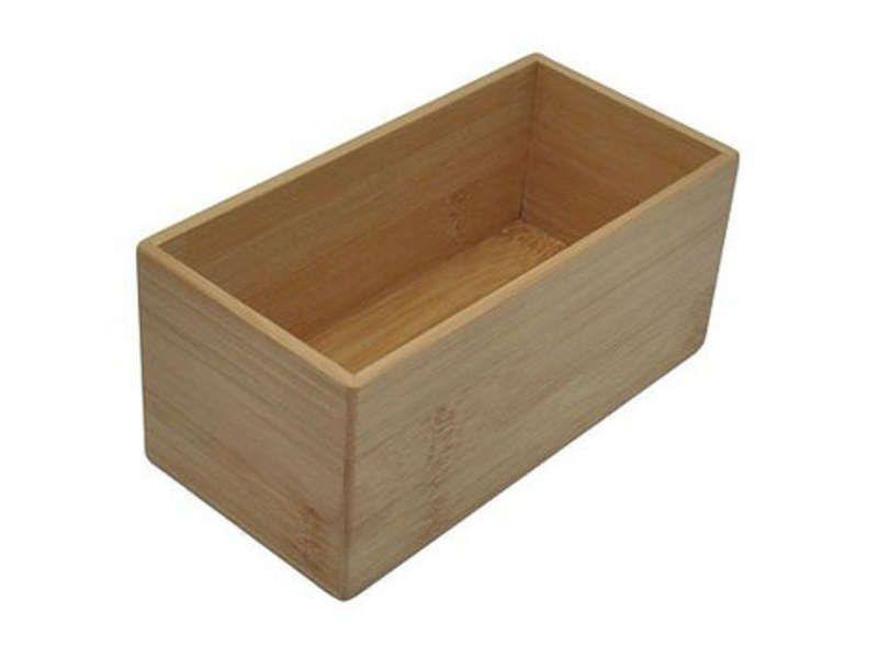 boite de rangement rectangulaire petit mod le conforama. Black Bedroom Furniture Sets. Home Design Ideas