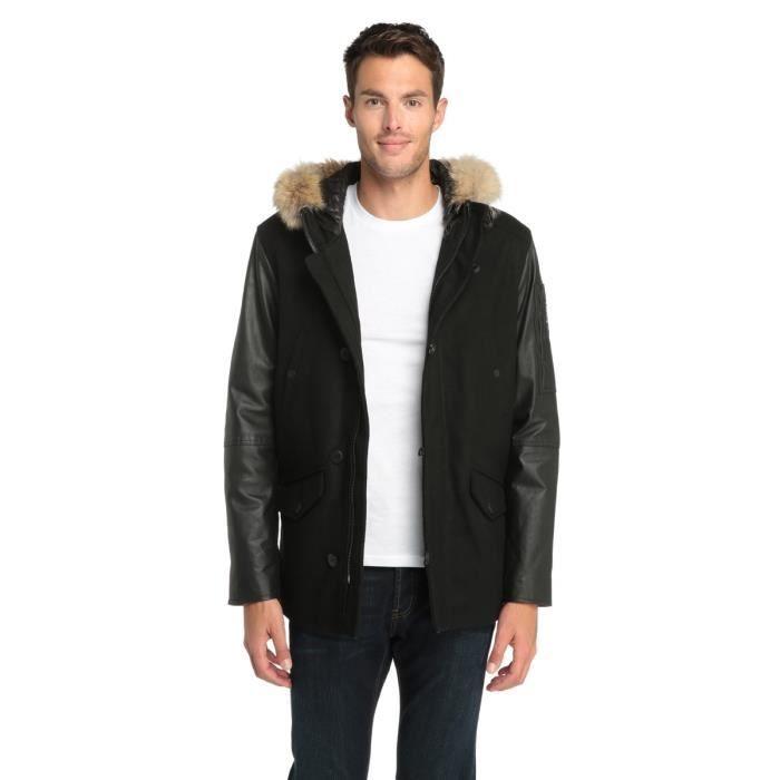 redskins manteau en cuir homme redskins pickture. Black Bedroom Furniture Sets. Home Design Ideas