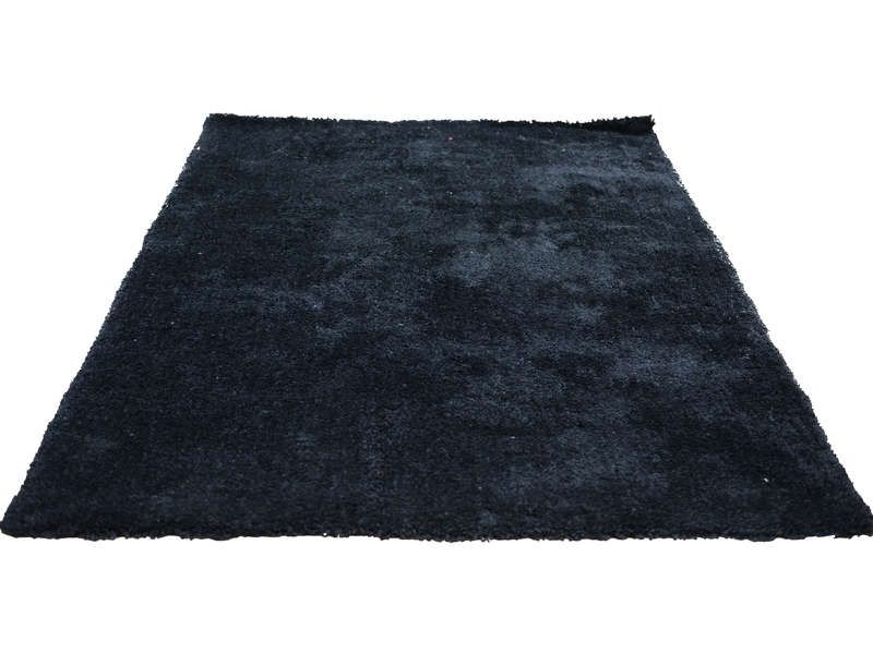 Tapis 160x230 cm velour coloris noir conforama pickture - Tapis conforama 160x230 ...