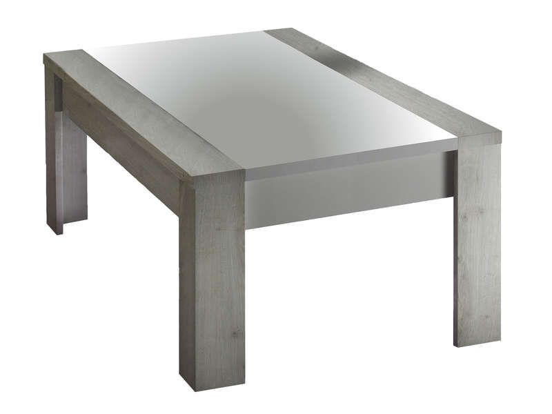 Table Basse Mars Coloris Ch Ne Et Blanc Conforama Pickture
