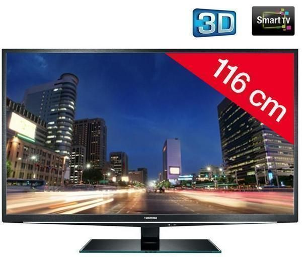 t l viseur led 3d 46tl838f hd tv 1080p 46 toshiba. Black Bedroom Furniture Sets. Home Design Ideas