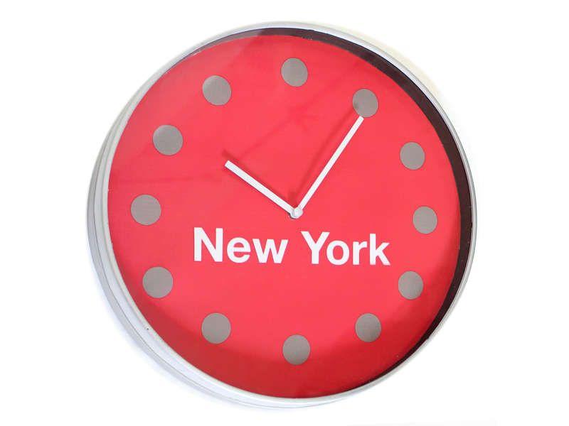 Horloge 30 cm new york conforama pickture for Miroir new york conforama