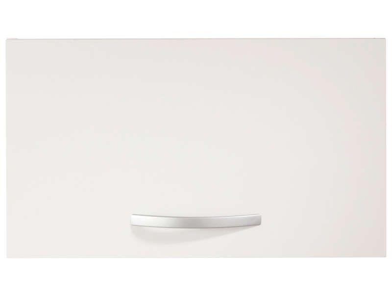 Dessus de hotte 60 cm spoon coloris blanc conforama for Meuble mural 80 cm