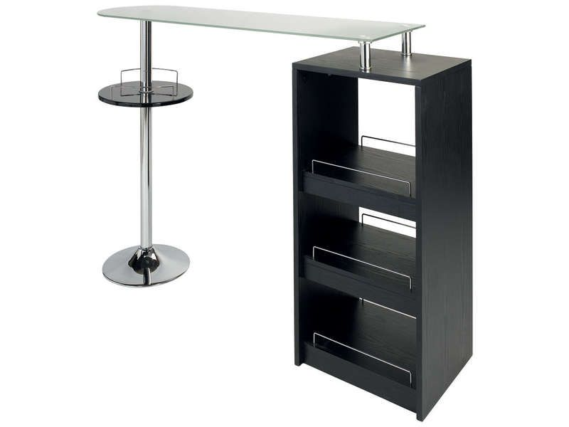 Table de bar conforama for Chemin de table conforama