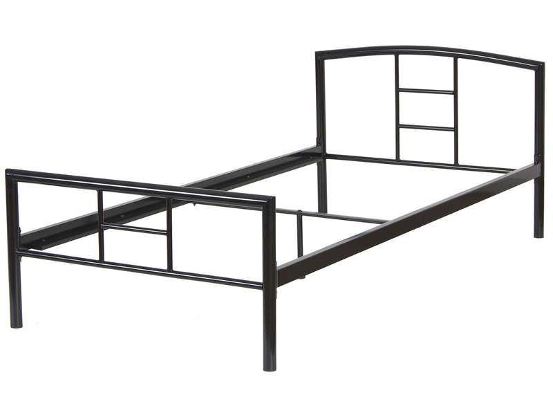 lit 90x190 cm liska coloris noir conforama pickture. Black Bedroom Furniture Sets. Home Design Ideas