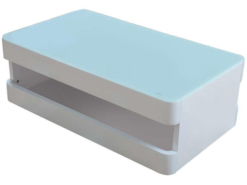 table basse design geek. Black Bedroom Furniture Sets. Home Design Ideas