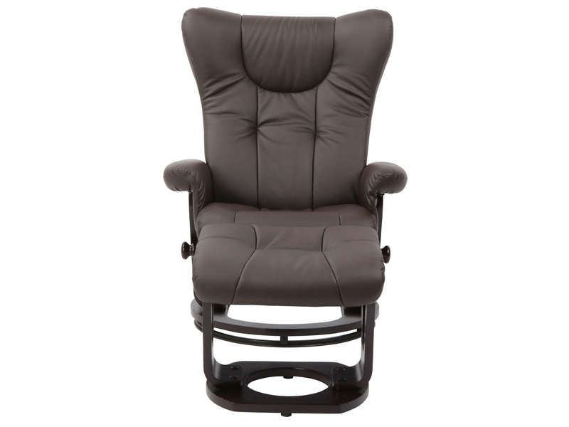 fauteuil relaxation repose pieds davy coloris conforama pickture. Black Bedroom Furniture Sets. Home Design Ideas