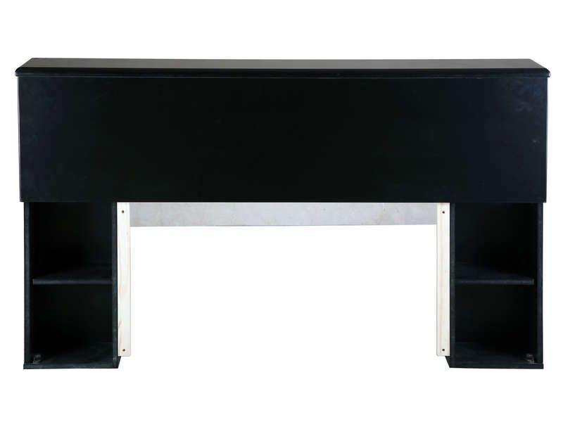 tete de lit noir conforama. Black Bedroom Furniture Sets. Home Design Ideas