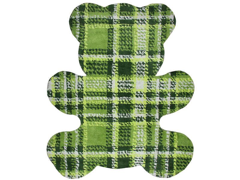 tapis enfant 120x100 cm bear coloris vert conforama pickture. Black Bedroom Furniture Sets. Home Design Ideas