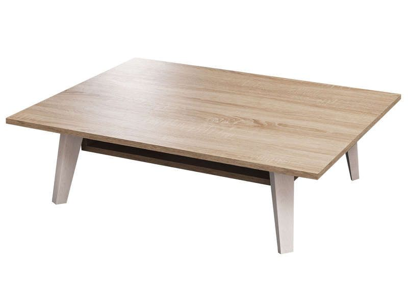 Table basse coloris ch ne naturel conforama pickture - Table basse chene naturel ...