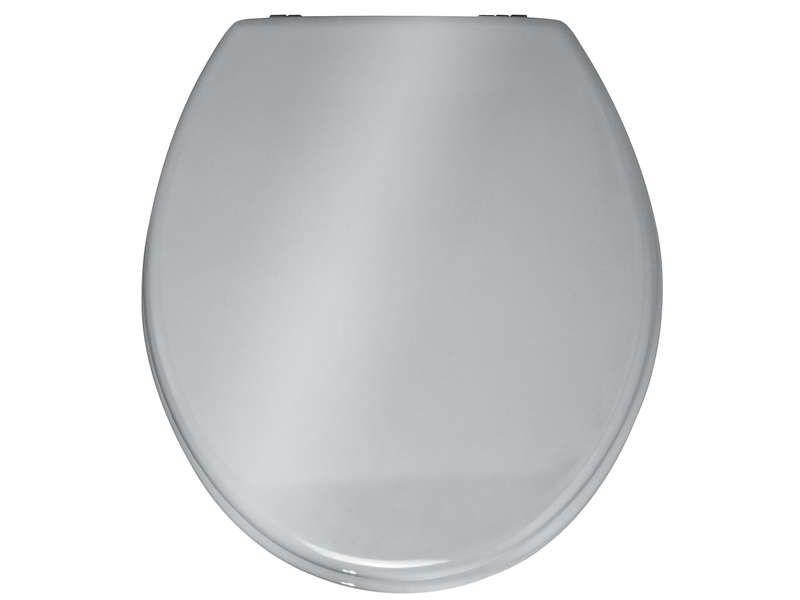 Abattant WC PRIMA Coloris argenté  Conforama  Pickture