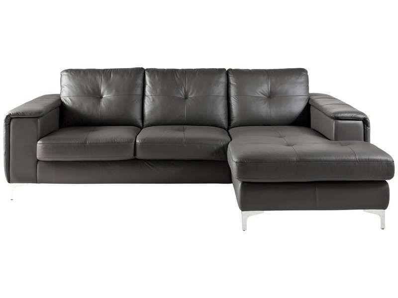 canap d 39 angle droit fixe 4 places jordano conforama pickture. Black Bedroom Furniture Sets. Home Design Ideas