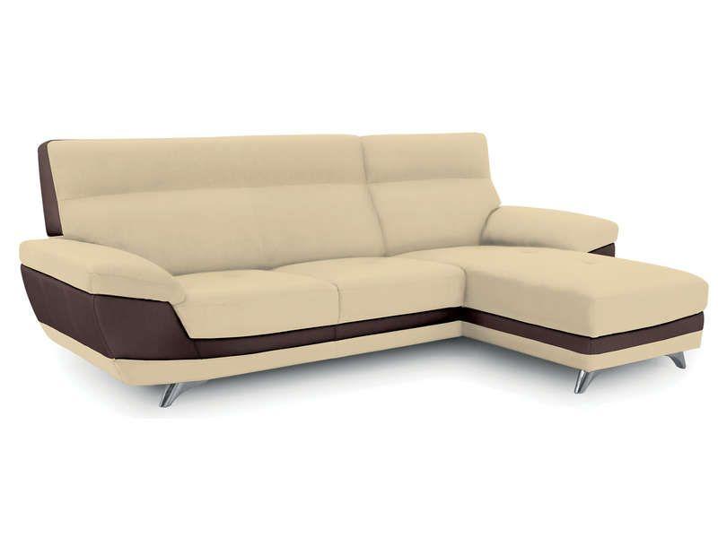 canap d 39 angle droit 4 places diagonal coloris conforama. Black Bedroom Furniture Sets. Home Design Ideas