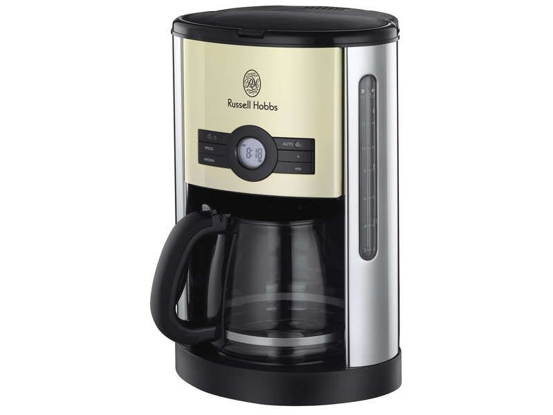 cafeti re filtre programmable russell hobbs russell hobbs pickture. Black Bedroom Furniture Sets. Home Design Ideas