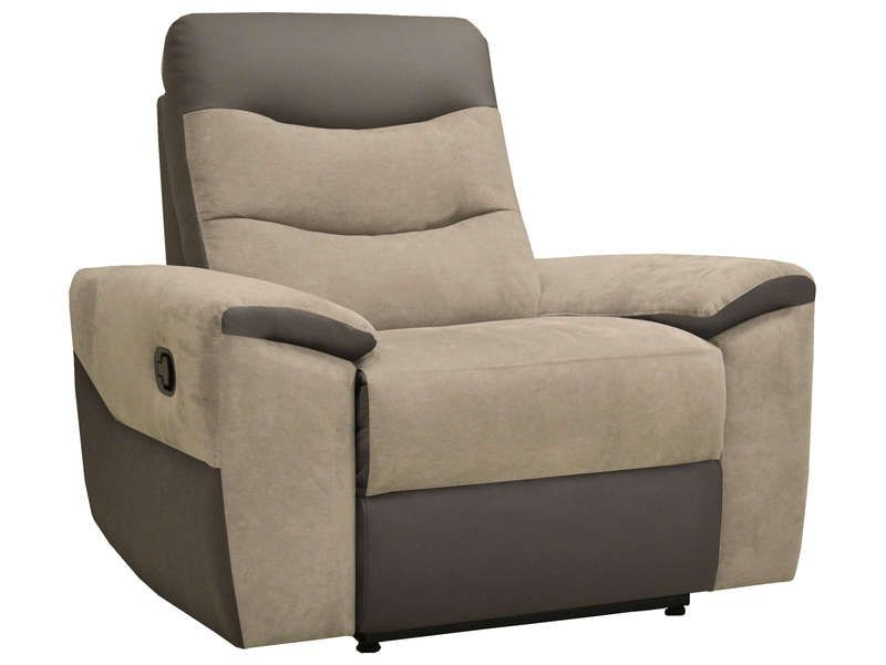 fauteuil relaxation foster coloris gris conforama pickture. Black Bedroom Furniture Sets. Home Design Ideas