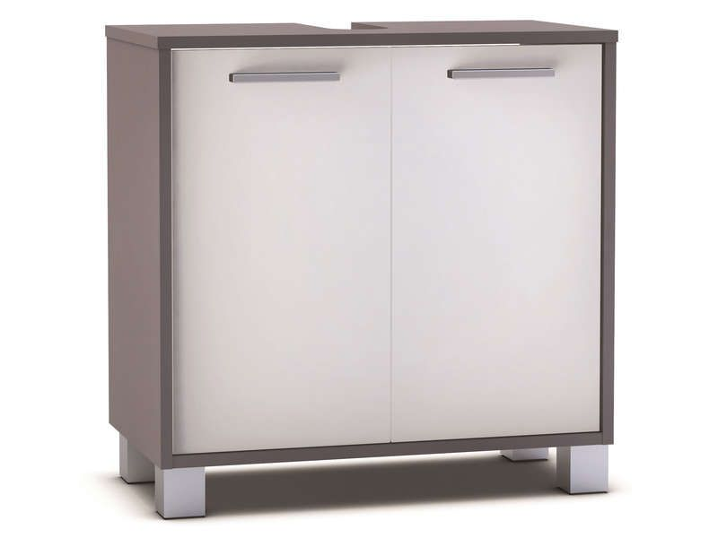 Meuble sous lavabo 2 portes tha s conforama pickture for Meuble 2 porte conforama