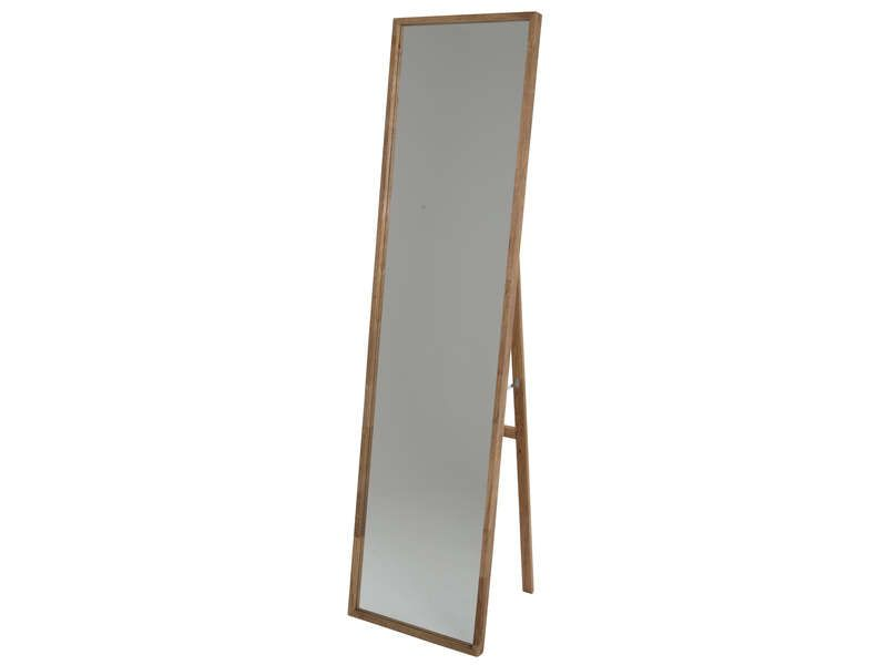 Miroir psych 160 cm pricks coloris noyer conforama for Miroir 160 cm