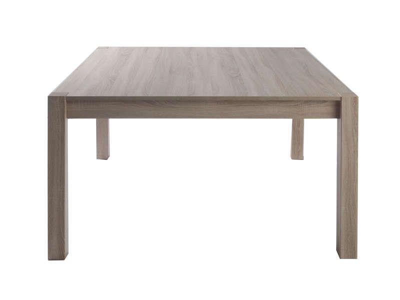 table carr e 138 cm bosco conforama pickture. Black Bedroom Furniture Sets. Home Design Ideas