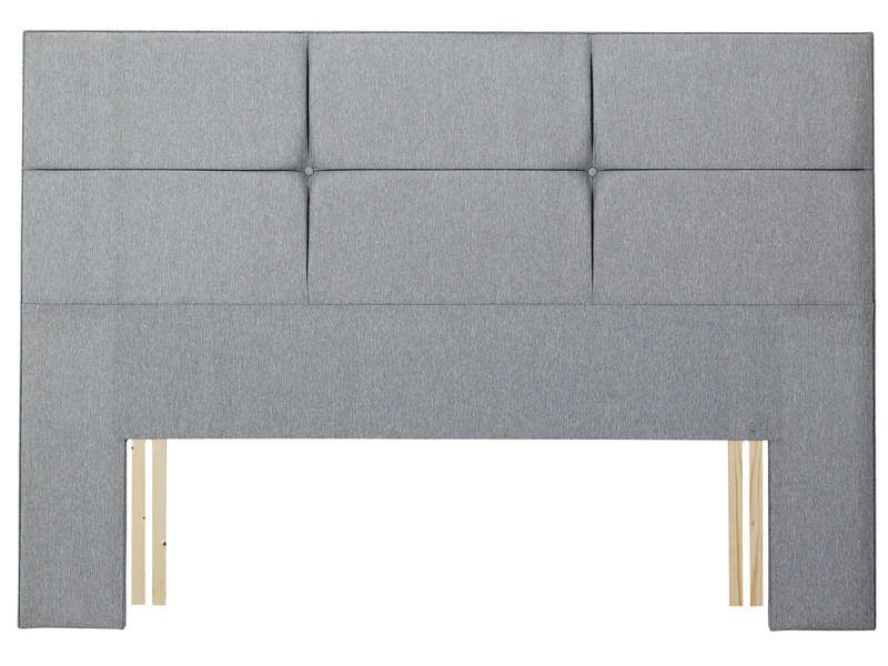 t te de lit 155 cm relyon contemporaine gris relyon pickture. Black Bedroom Furniture Sets. Home Design Ideas