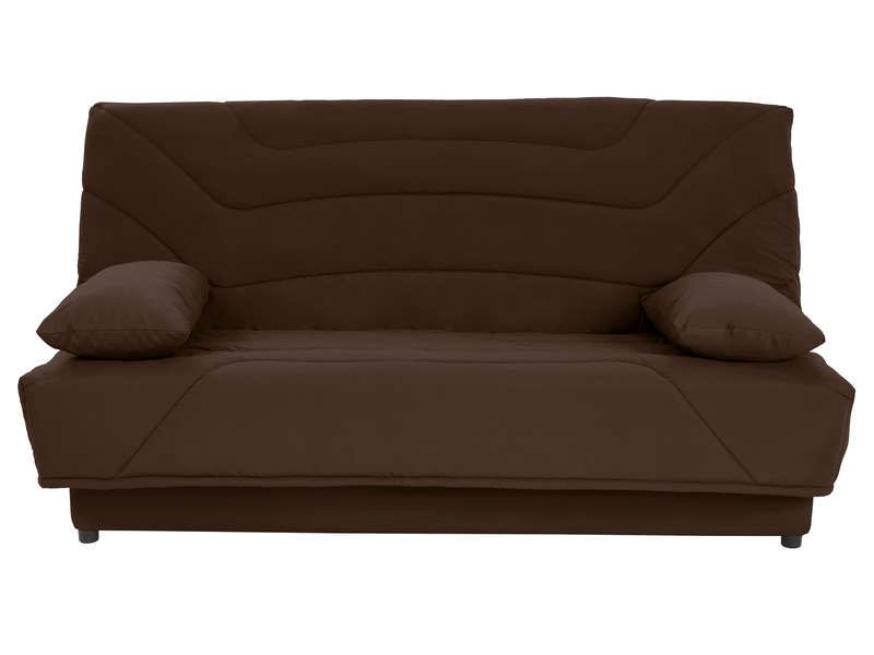 couette clic clac 130 cm julia coloris chocolat conforama pickture. Black Bedroom Furniture Sets. Home Design Ideas