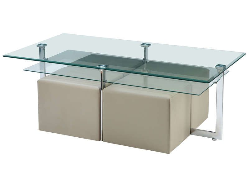 Conforama Table Basse Avec Pouf – Phaichicom -> Grande Table Bvasse Conforama