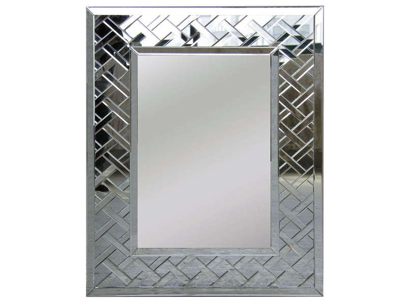 Miroir 100x80 cm empeureur conforama pickture for Miroir conforama