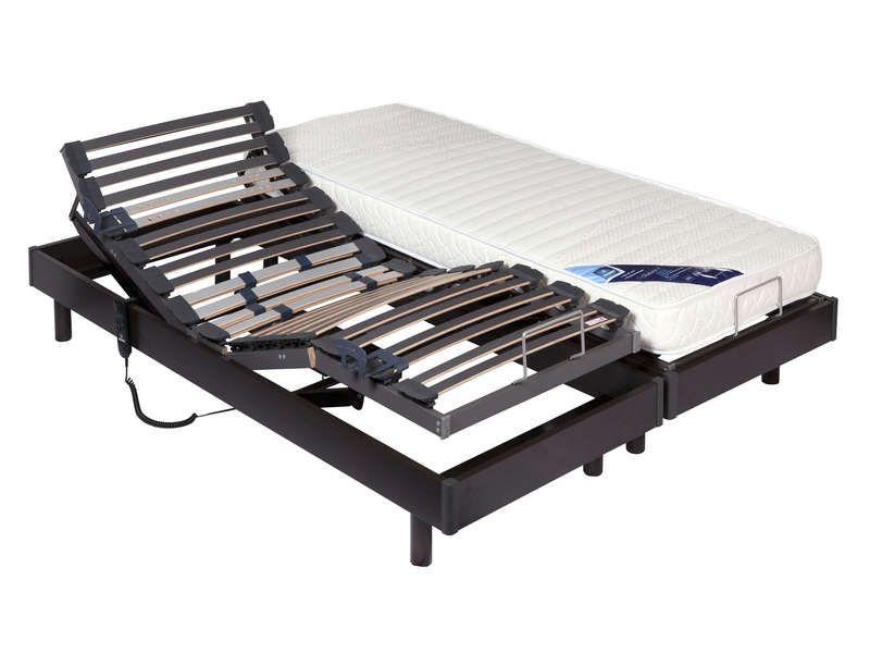 matelas sommier 2x80x200 cm merinos oceano merinos. Black Bedroom Furniture Sets. Home Design Ideas