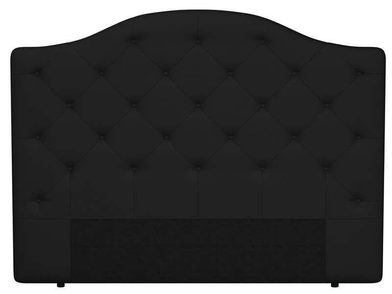 T te de lit 200 cm maia coloris noir conforama pickture - Tete de lit tissu conforama ...
