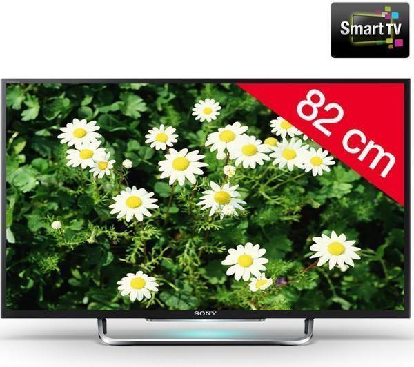 bravia kdl 32w705b t l viseur led smart tv hd sony pickture. Black Bedroom Furniture Sets. Home Design Ideas