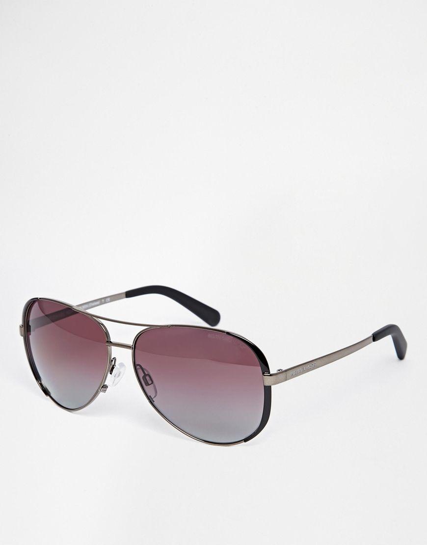 michael kors lunettes de soleil aviateur michael kors. Black Bedroom Furniture Sets. Home Design Ideas