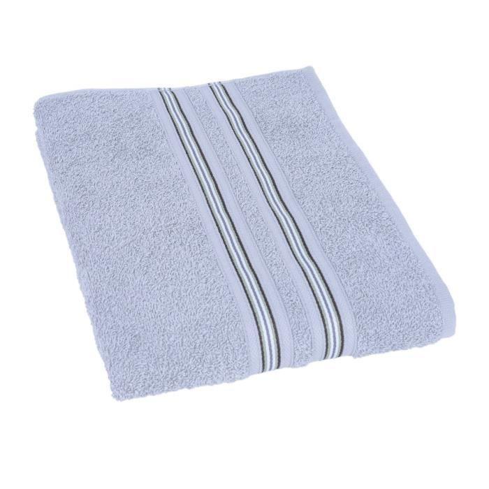 drap de bain mia 70x140 cm gris jules clarysse pickture. Black Bedroom Furniture Sets. Home Design Ideas