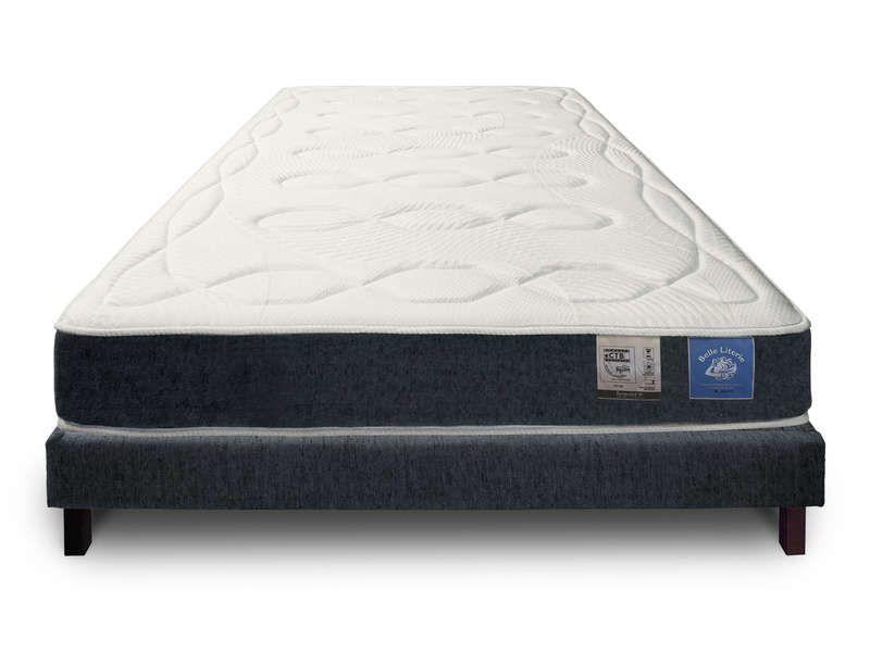 matelas sommier mousse 140x190 cm benoist belle conforama pickture. Black Bedroom Furniture Sets. Home Design Ideas