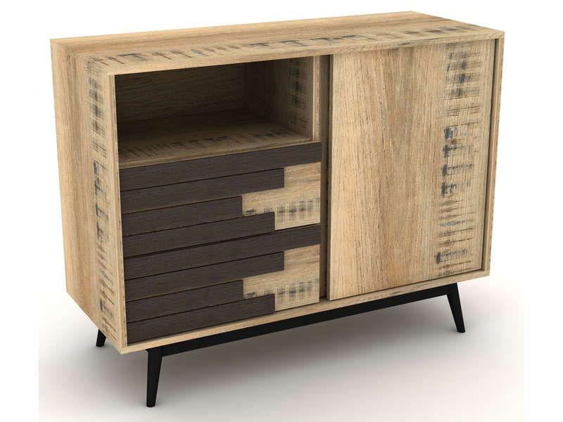 bahut ethnica conforama pickture. Black Bedroom Furniture Sets. Home Design Ideas