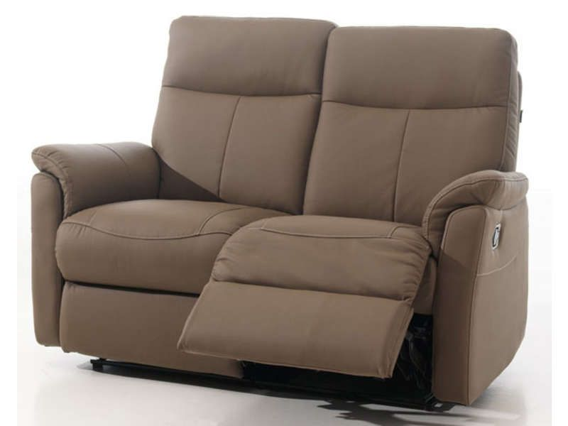 Canap relaxation 2 places jens coloris taupe conforama pickture - Canape relax 2 places conforama ...