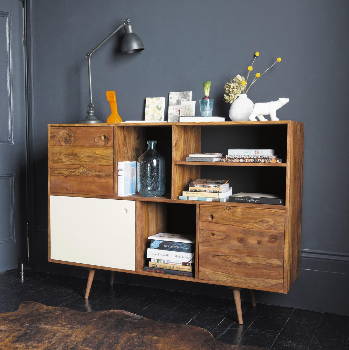 Buffet vintage andersen maisons du monde pickture for Album photo maison du monde
