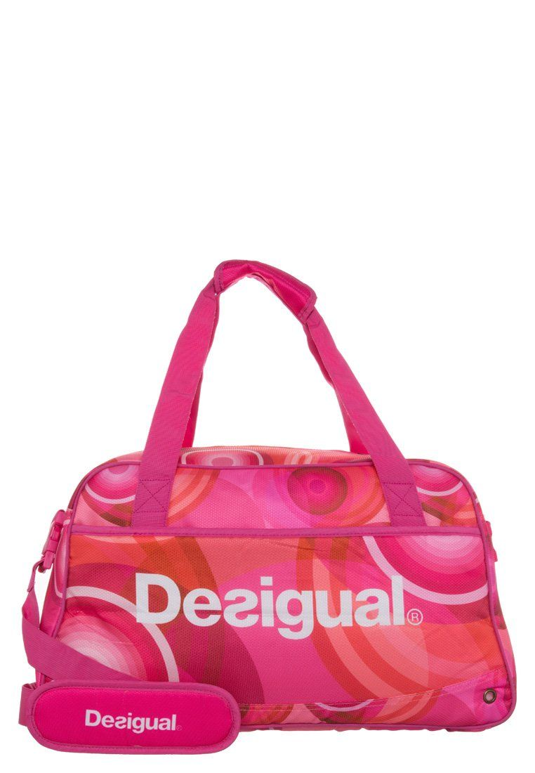 desigual bols sac de sport salmon rose desigual pickture. Black Bedroom Furniture Sets. Home Design Ideas