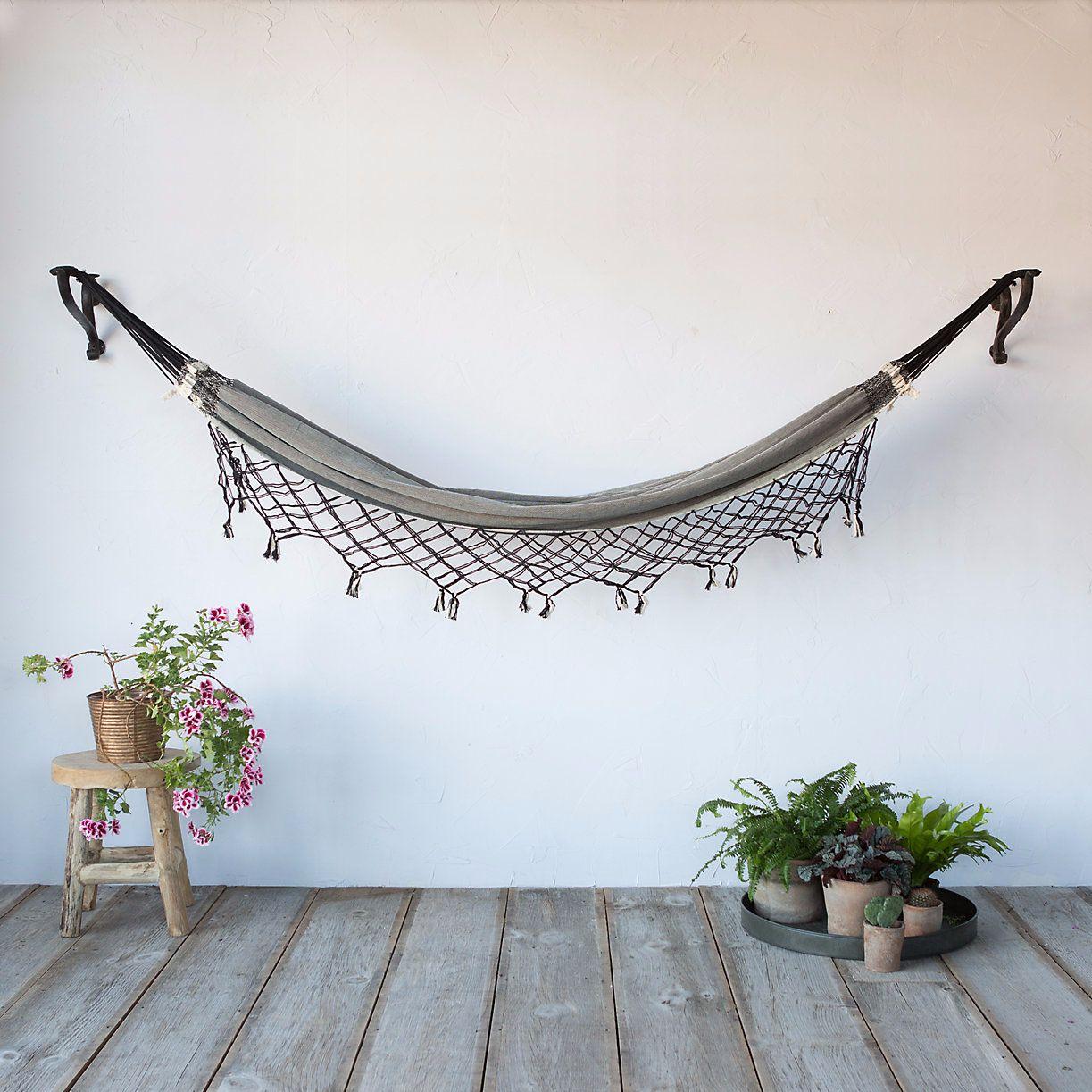 hamac en macram terrain pickture. Black Bedroom Furniture Sets. Home Design Ideas