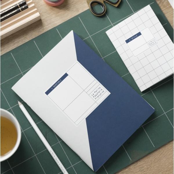 carnet l 39 agr able bleu la petite papeterie fran aise pickture. Black Bedroom Furniture Sets. Home Design Ideas