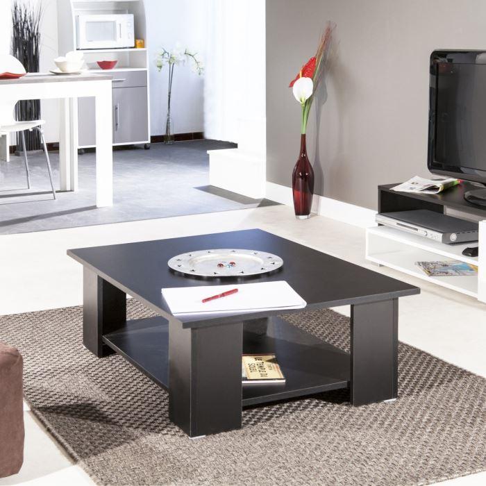Mango table basse noire 89 x 67 x 31 cm aucune pickture - Table basse c discount ...